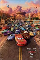 Cars Movie Poster (2006)