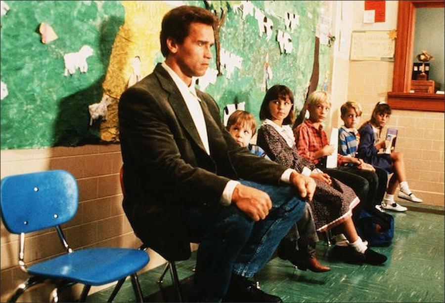 Kindergarten Cop 1990 90 S Movie Nostalgia