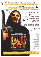 Killing Zoe Movie Poster (1994)