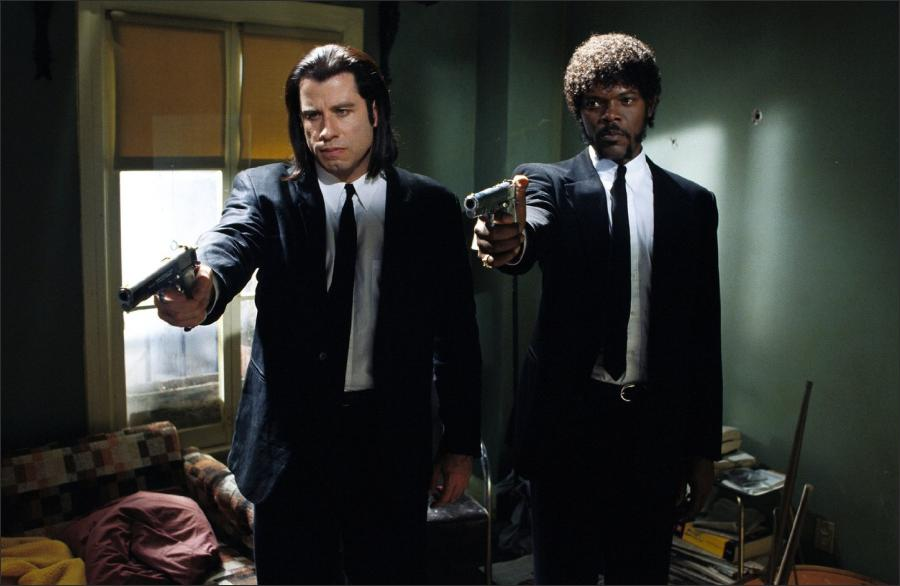a plot overview of the quentin tarantino directed film pulp fiction