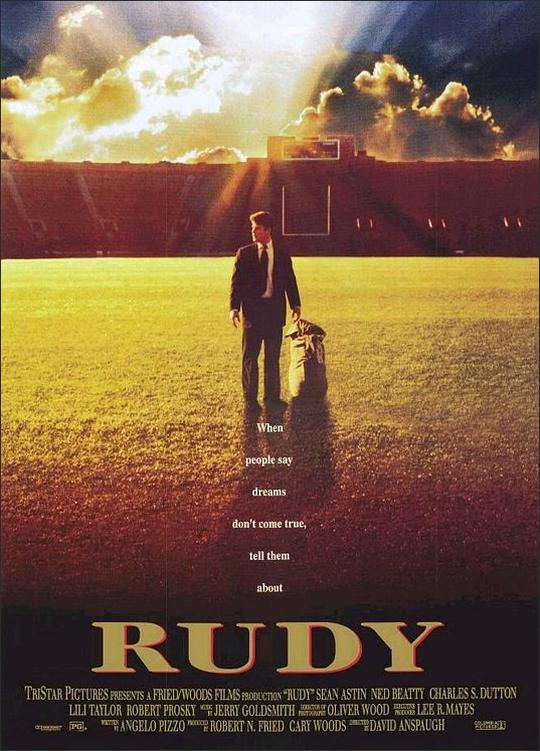 Rudy original movie poster