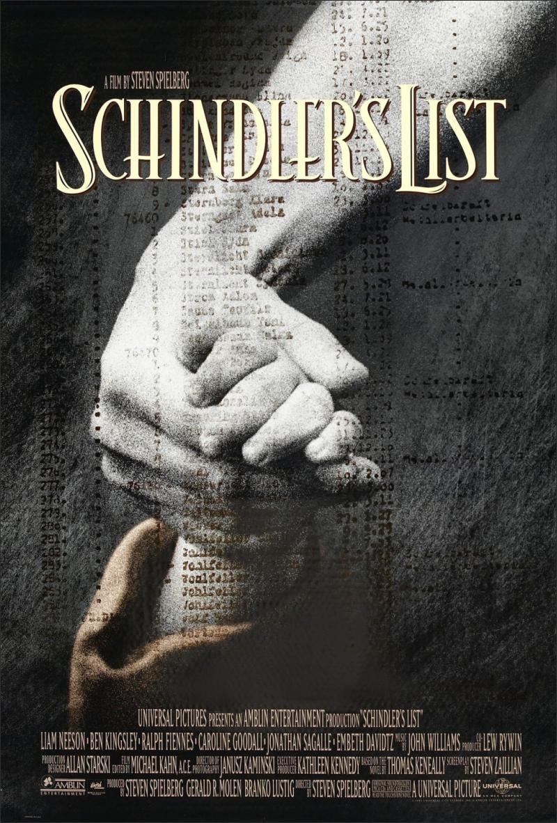 a view of jewish oppression and schindlers list