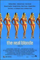 The Real Blonde Movie Poster (1998)