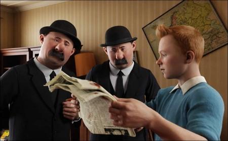 Tintin Movie: From Virtual to Reality