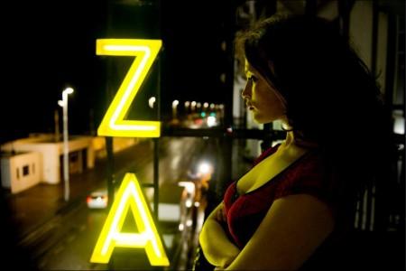 Gemma Arterton as Clara in Byzantium.