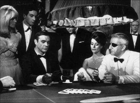 James Bond at the Casino in Thunderball