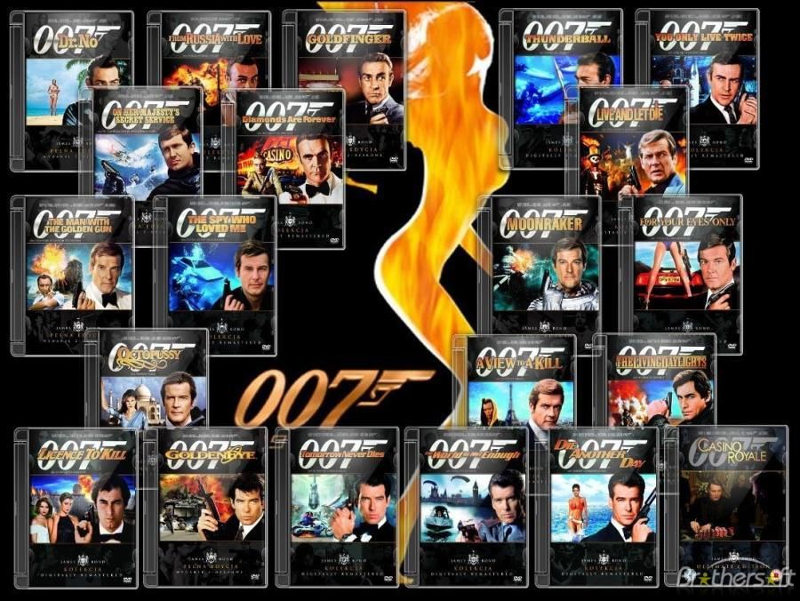 James Bond Movies Timeline