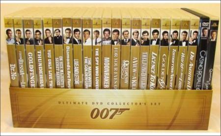 James Bond Movies Timeline