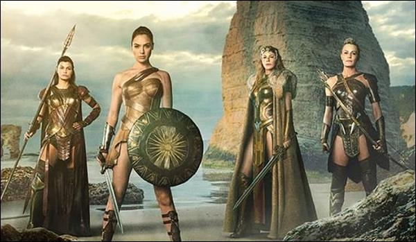New Wonder Woman set photos show Hippolyta on horseback