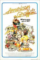 Amlerican Graffiti Movie Poster (1973)
