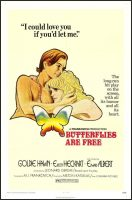 Butterflies Are Free Movie Poster (1972)