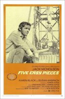 Five Easy Pieces Movie Poster (1970)