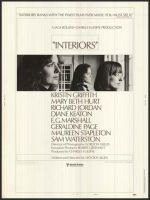 Interiors Movie Poster (1978)