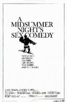 A Midsummer Night's Sex Comedy Movie Poster (1982)