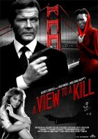 A View to a Kill Movie Poster (1985)