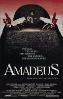 Amadeus Movie Poster (1984)
