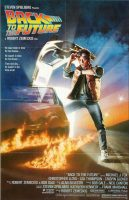 Back to the Future Movie Poster (1985)
