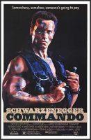 Commando Movie Poster (1985)