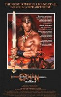 Conan the Destroyer Movie Poster (1984)