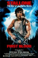 First Blood Movie Poster (1982)