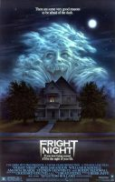 Fright Night Movie Poster (1985)