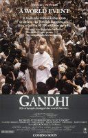 Gandhi Movie Poster (1982)