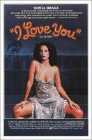 I Love You - Eu Te Amo Movie Poster (1981)