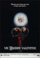 My Bloody Valentine Movie Poster (1981)