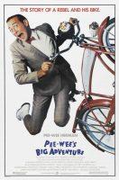 Pee-wee's Big Adventure Movie Poster (1985)