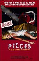 Pieces - Mil Gritos Tiene La Noche Movie Poster (1983)