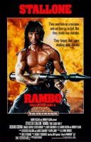 Rambo: First Blood Part II Movie Poster (1985)