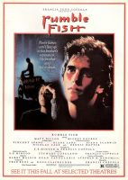 Rumble Fish Movie Poster (1983)