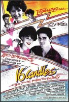 Sixteen Candles Movie Poster (1984)