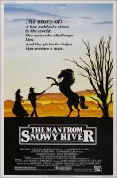 The Man from Snowy River Movie Poster (1982)