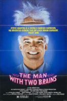 The Man with Two Brains Movie Poster (1983)