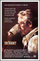 The Verdict Movie Poster (1982)