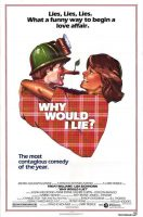 Why Would I Lie? Movie Poster (1980)