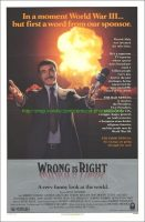 Wrong Is Righ Movie Postert (1982)