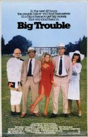 Big Trouble Movie Poster (1986)