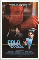 Cold Steel Movie Poster (1987)