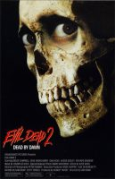 Evil Dead II Movie Poster (1987)