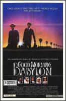 Good Morning, Babylon Movie Poster (1987)