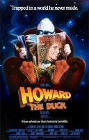 Howard the Duck Movie Poster (1986)