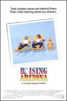 Raising Arizona Movie Poster (1987)