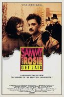 Sammy and Rosie Get Laid Movie Poster (1987)