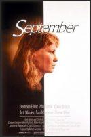 September Movie Poster (1987)