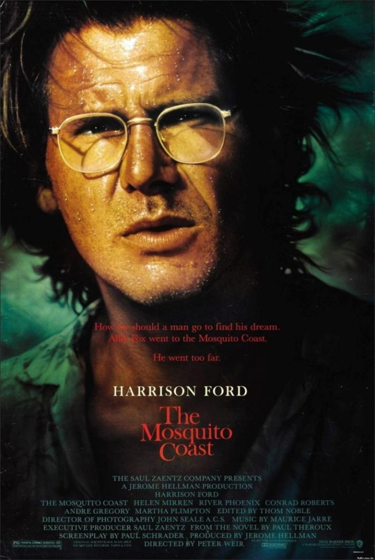 a review of the peter weirs directed movie mosquito coast