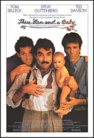 Three Men and a Baby Movie Poster (1987)