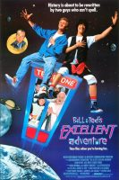 Bill & Ted's Excellent Adventure Movie Poster (1989)
