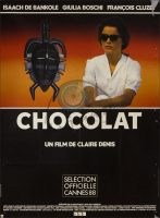 Chocolat Movie Poster (1988)